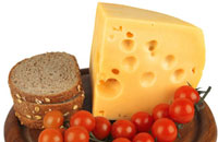 cheese and other dairy products also contain calcium