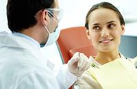 Consulta con el dentista