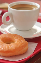 Donuts and coffee may be bad for your teeth