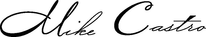 Mike Castro signature
